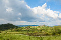 Beautiful view from wang nam keaw mountian thailand travel Royalty Free Stock Photography