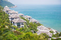 Beautiful villa on the great place, sea view Royalty Free Stock Photo