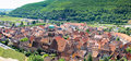 Beautiful village in Alsace - France Royalty Free Stock Photography
