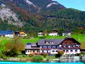 stock image of  Beautiful village in Austria, under the Alps