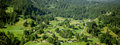 Beautiful village near zweilutschinen Royalty Free Stock Photo