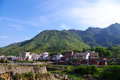 Beautiful village of southwest china Stock Images