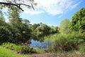 Beautiful vista of Mounts Botanical Gardens in Palm Beach, Florida, USA Royalty Free Stock Photo