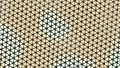Beautiful wallpaper banner with, Abstract design, geometric Patterns, Triangles, Net, flower, floral Yellow shades Texture