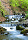 Beautiful waterfall cascades Royalty Free Stock Image