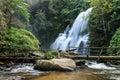 Beautiful waterfall chiangmai northern thailand Royalty Free Stock Photos