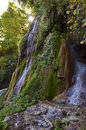 Beautiful waterfall from romanian mountains Royalty Free Stock Photo