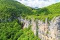 Beautiful waterfall in Vratsa Balkan Mountains Royalty Free Stock Photo