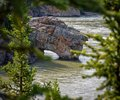 Rivers, Lakes and Oceans of Alaska & Canada Royalty Free Stock Photo