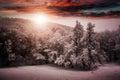 Beautiful Winter Nature Landsc...