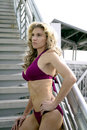 Beautiful woman in bikini Royalty Free Stock Photos