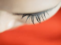 Beautiful woman eye Stock Images