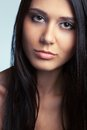 Beautiful woman face portrait Royalty Free Stock Photo