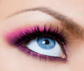 Beautiful womanish eye Stock Photography