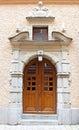 Beautiful Wooden Door, Old Arc...