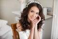 Joven novia boda y