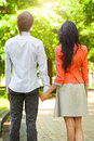 Beautiful young couple in love portrait of Stock Image