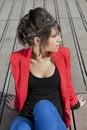 Beautiful young hispanic woman Royalty Free Stock Photo