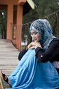 Beautiful young muslimah