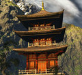 Beautiful Zen temple Stock Photos