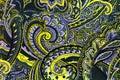 Beautifull botanic swirling  pattern.
