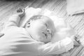 Beautifull small baby Royalty Free Stock Photo