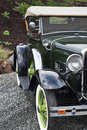 Beautifully restored 1930's car Stock Images
