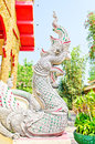 Beautifuls king of nagas in thailand Royalty Free Stock Image