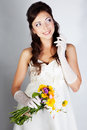 Beautuful bride portrait Royalty Free Stock Images