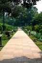 A beautuful park beautiful and pathway Royalty Free Stock Image