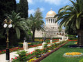 Beauty of Bahai gardens. Stock Images