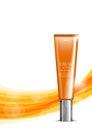 Beauty cosmetic light design template