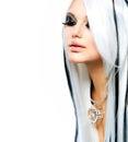 Beauty Fashion Gothic Girl Royalty Free Stock Photos