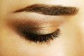Beauty female eye Makeup Stock Photos