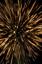 Beauty fire work for celebrate in dark sky Royalty Free Stock Photos