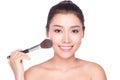 Beauty makeup asian woman Royalty Free Stock Photo