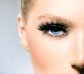 Krása kozmetické prostriedky modrý oči