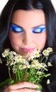 Beauty makeup girl Royalty Free Stock Photography