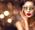 Beauty Model Woman Wearing Ven...