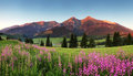 Beauty Mountain Panorama With ...