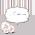 Beauty pearl background vector illustration Stock Images