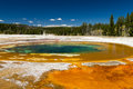 Beauty Pool at Upper Geyser Basin Royalty Free Stock Photo
