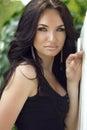 Beauty Portrait Of Brunette Mo...