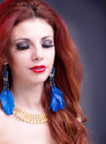Beauty portrait glamour girl woman Royalty Free Stock Photos