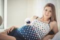 Beauty Pregnant Woman Royalty Free Stock Photo