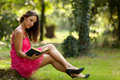 Beauty Reading In Nature