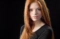 Beauty Redhead Royalty Free Stock Photo