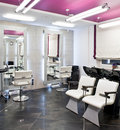 Beauty salon interior Stock Photos