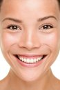 Beauty skin care woman closeup Stock Image
