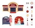Beauty Store Icon Set